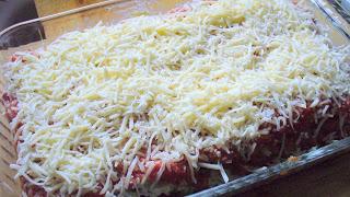Лазанья с баклажанами и помидорами - фото шаг 7