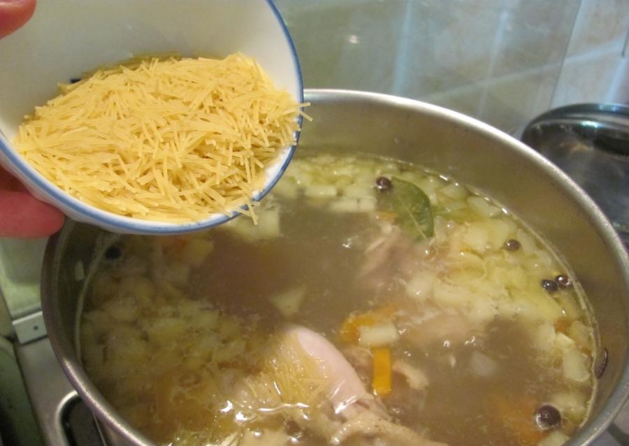 Лапша куриная рецепт с фото