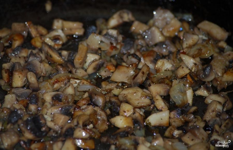 Поджарка из грибов рецепт с фото