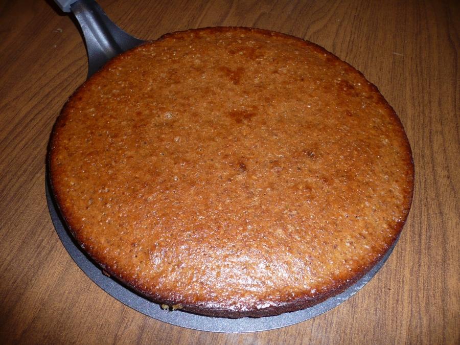 случайный фото-рецепт ореховый торт без муки и масла