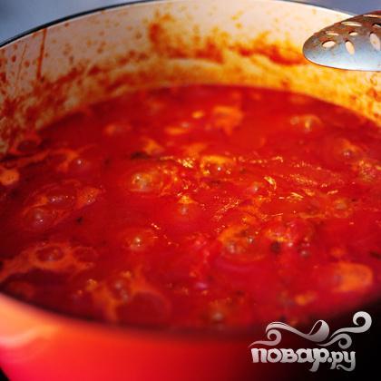 Спагетти с фрикадельками - фото шаг 23