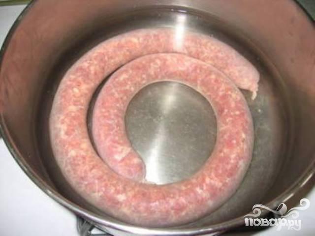 Польские колбаски - фото шаг 4