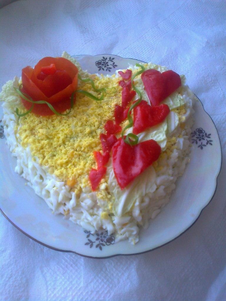 Салат для любимых - фото шаг 8