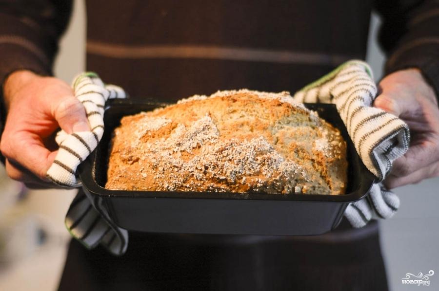 Вегетарианский хлеб овсяный - фото шаг 5