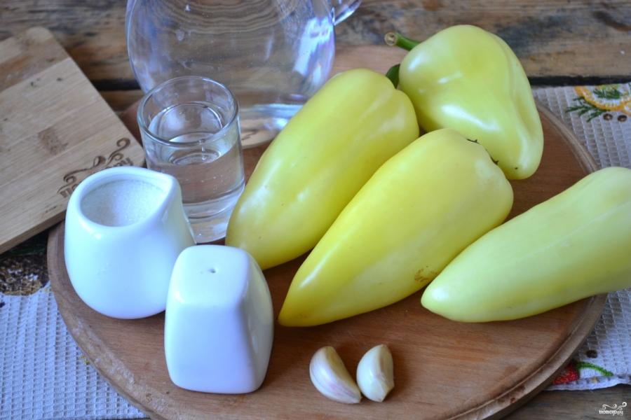 Сладкий перец на зиму без стерилизации - фото шаг 1