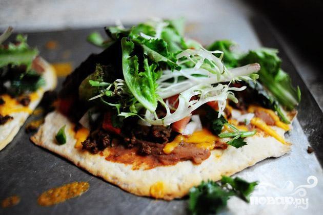 Мексиканская мини-пицца