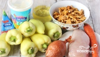 Рецепт Сладкий перец с начинкой