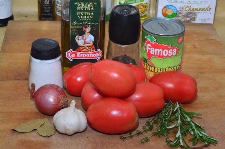 Подлива из помидоров - фото шаг 1