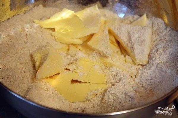 Миндальный пирог с киви - фото шаг 1