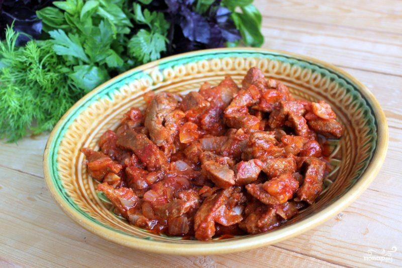 Мясная поджарка рецепт с пошагово в