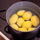 Рецепт Картофель с творожным кремом