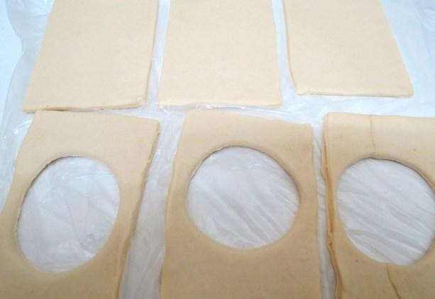 Пирожки с черникой из слоеного теста - фото шаг 3