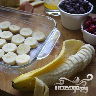 Овсяная запеканка с ягодами и орехами - фото шаг 2