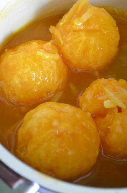 Карамельные мандарины - фото шаг 5