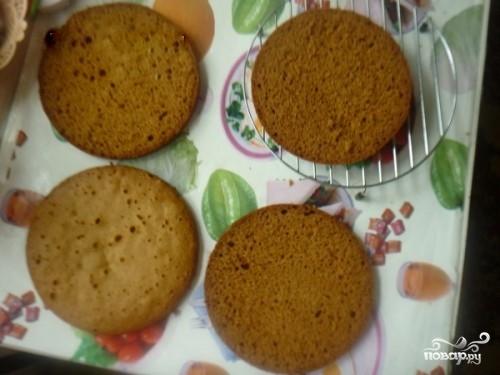 """Торт """"Рыжик"""" в мультиварке - фото шаг 7"""