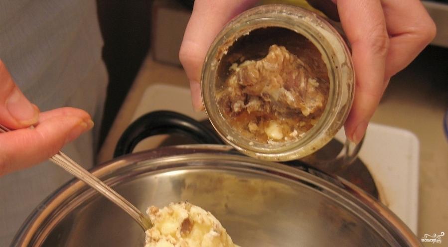 Суп из консервированного щавеля с тушенкой - фото шаг 2