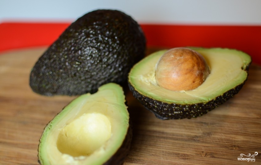 Рецепт Запеченные фаршированные авокадо