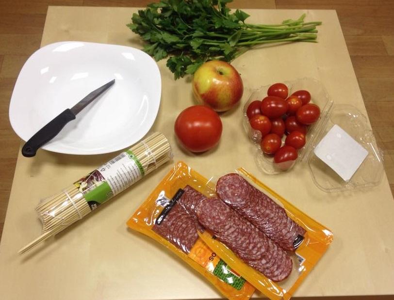 Елочка из мяса - фото шаг 1
