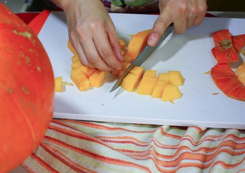 Начинка для пирожков из тыквы - фото шаг 3
