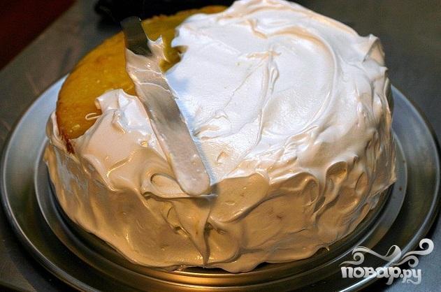 Многослойный лимонный торт - фото шаг 6