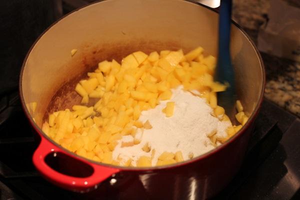 Персиковое варенье на скорую руку - фото шаг 2