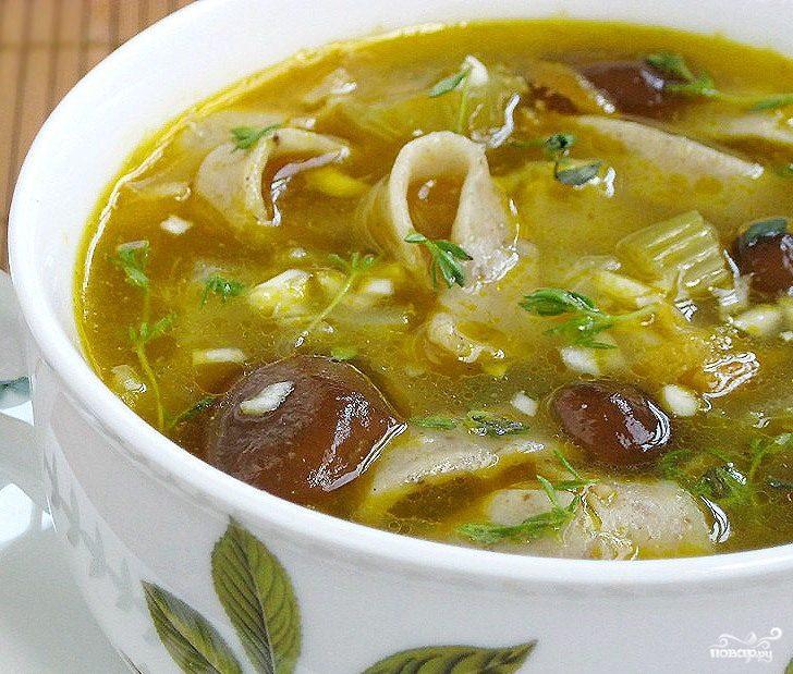 Суп из дубовиков