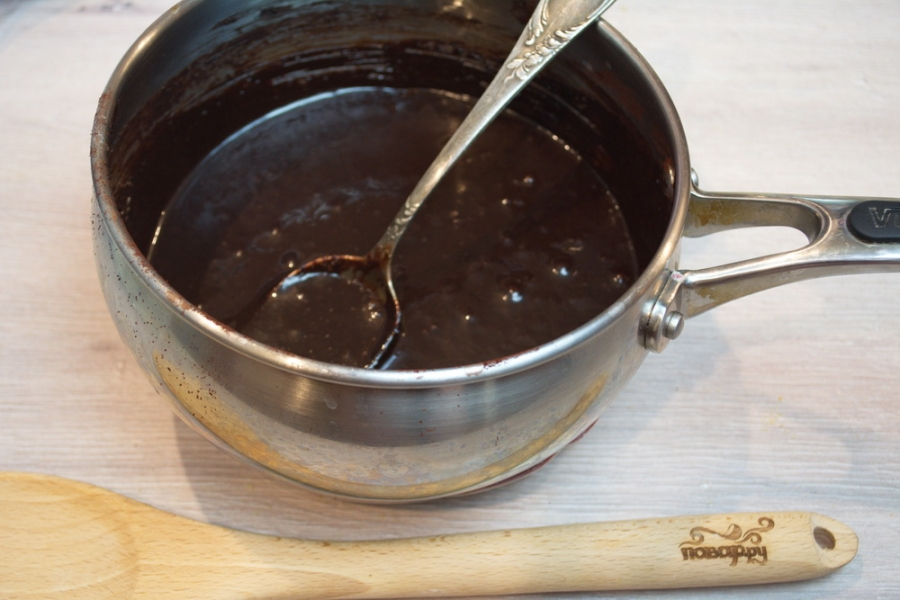 Шоколадная колбаса - фото шаг 4