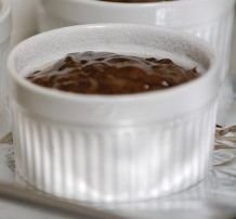 Суфле из черного шоколада - фото шаг 8