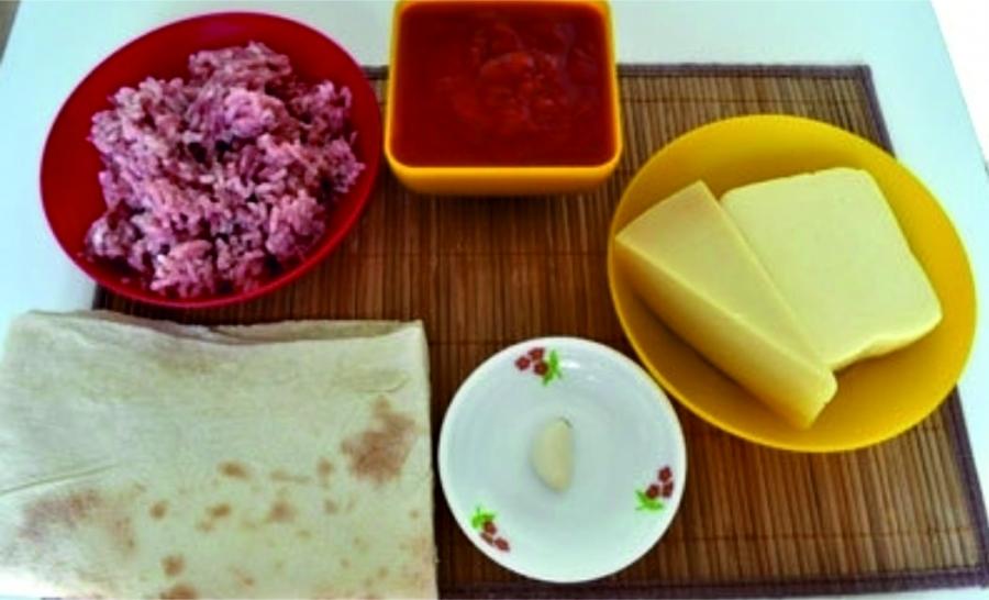 Рецепт Ленивая лазанья из лаваша
