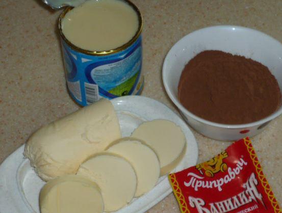 Рецепт Крем для шоколадного бисквита