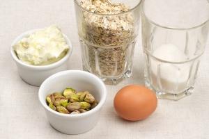 Рецепт Вегетарианское овсяное печенье
