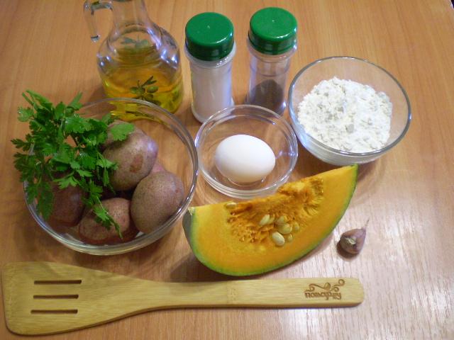 Рецепт Драники из тыквы
