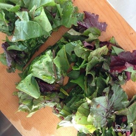 Свекольный салат с мандаринами - фото шаг 5