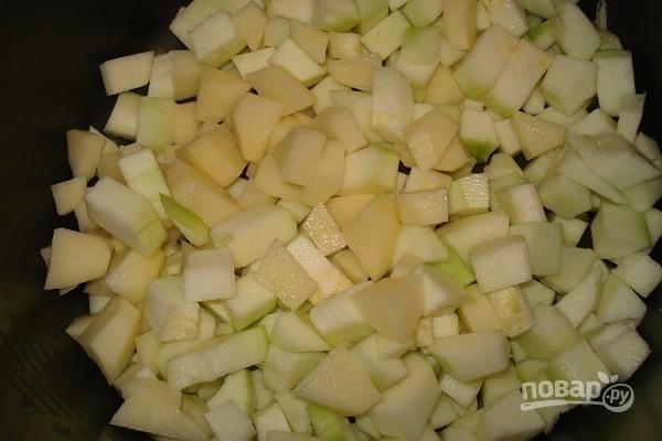Как приготовить картошку с овощами в казане