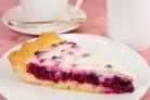 Вкусный пирог с брусникой