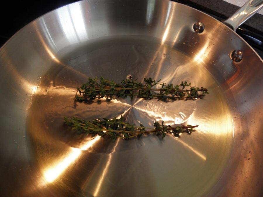 Рецепт Жареная свинина на сковороде