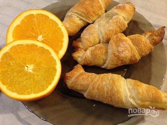 Апельсиновые круассаны