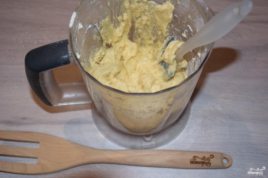 Бисквитное тесто для кексов - фото шаг 4