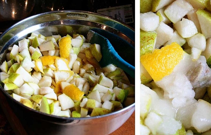 Рецепт Варенье из груш дольками