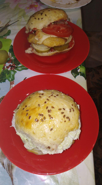 Булочки для бургеров - пошаговый рецепт с фото на