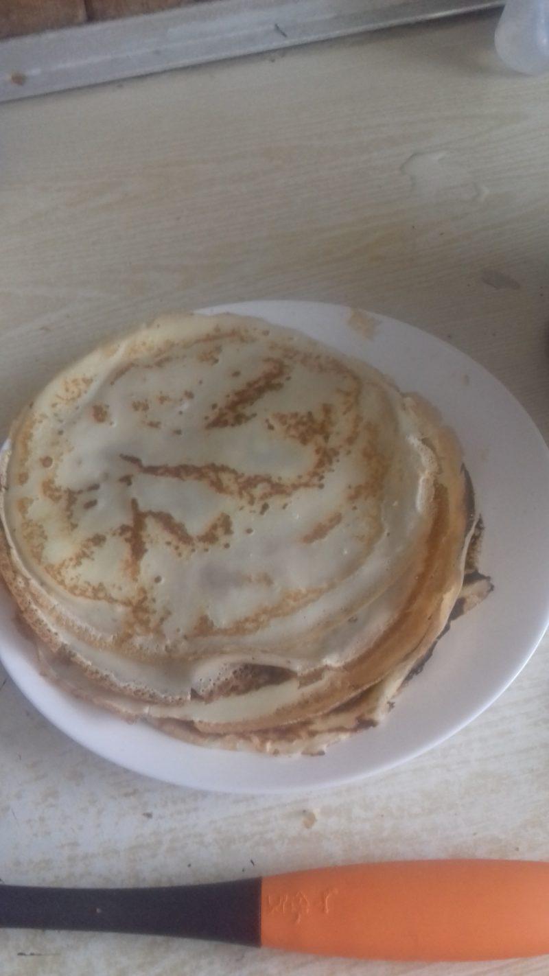Блины с дырочками на молоке - пошаговый рецепт с фото на
