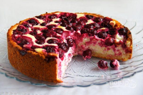 творожный вишневый чизкейк рецепт в домашних условиях