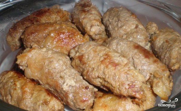 мясные рулетики с черносливом в духовке пошаговый рецепт