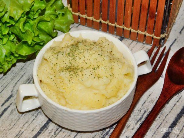 Диетическое картофельное пюре