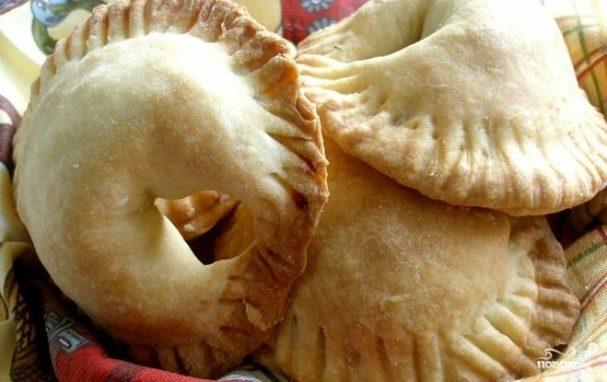 Пирожки с индейкой в духовке