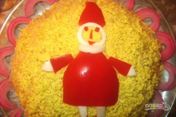 "Салат ""Санта Клаус"""