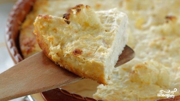 рецепт суфле с картошкой и курицей