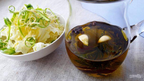 как сделать салатную заправку