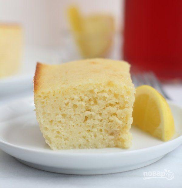 Манный пирог на кефире