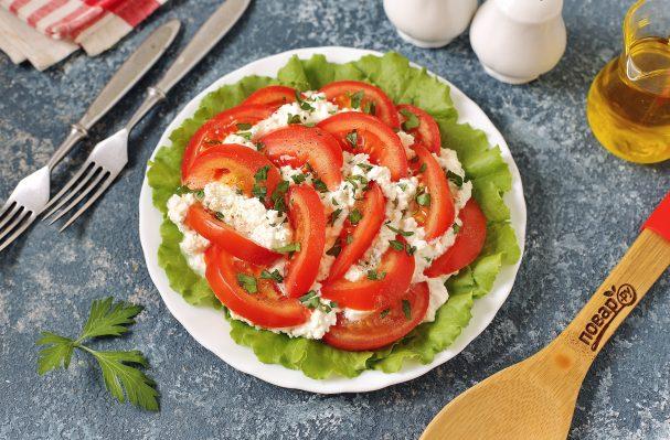 Салат с творогом для похудения